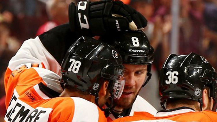 Pierre-Edouard Bellemare (Philadelphie Flyers) (ELSA / GETTY IMAGES NORTH AMERICA)