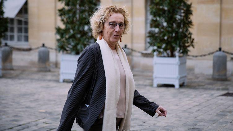 La ministre du Travail, Muriel Pénicaud, le 25 novembre 2019 à l'Hôtel de Matignon. (MARIE MAGNIN / HANS LUCAS / AFP)