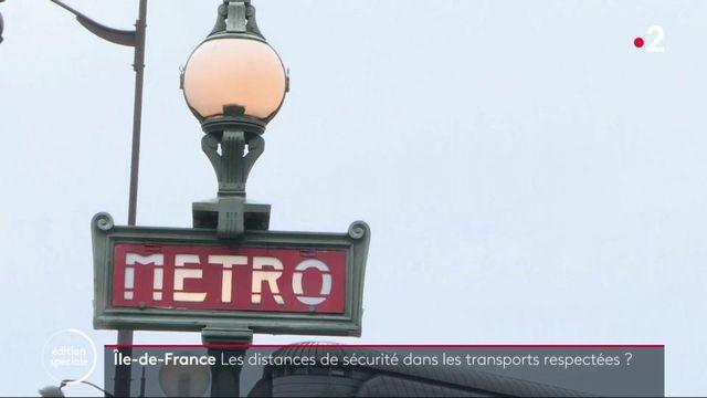 Île-de-France : les distances de sécurité dans les transports sont-elles respectées ?