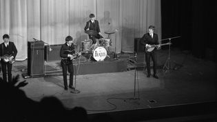 Les Beatles en concert à l'Olympia en 1964  (GUY BREEMAT / INA)