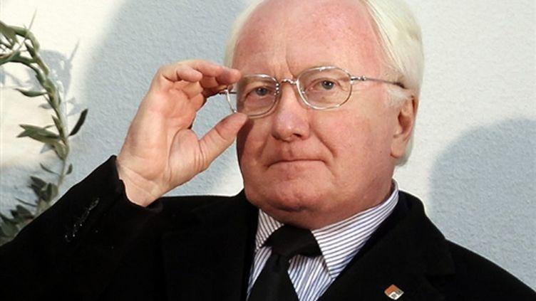 Le président PS sortant de PACA, Michel Vauzelle: les yeux rivés sur une prochaine victoire ? (AFP - Valéry HACHE)