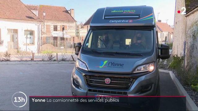 Yonne : une camionnette pour lutter contre l'absence des services publics