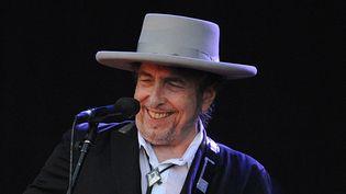 Bob Dylan le 22 juillet 2012 au festival de Carhaix  (Fred Tanneau / AFP)