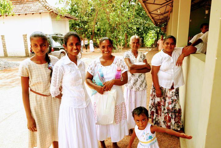 C'était jour de fête dans le villaged'Audangawa (EMMANUEL LANGLOIS / RADIO FRANC)