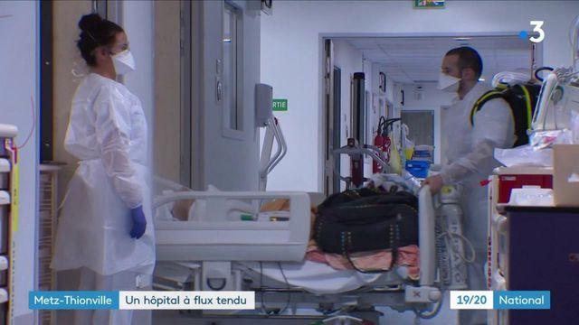 Covid-19 : le service de réanimation de l'hôpital de Metz-Thionville surchargé