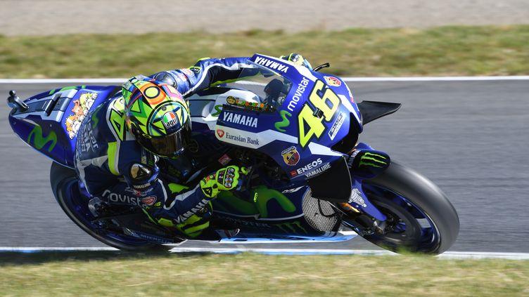 Valentino Rossi croit-il encore à ses chances d'être champion du monde ? (TOSHIFUMI KITAMURA / AFP)