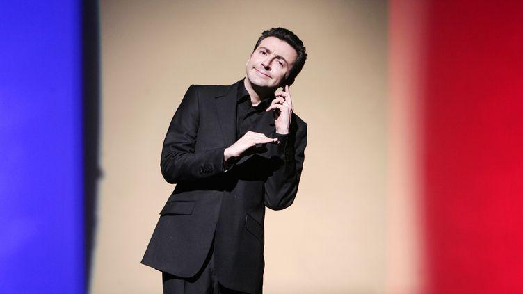 L'humoriste Gérald Dahan, le 8 mars 2007. (OLIVIER LABAN-MATTEI / AFP)