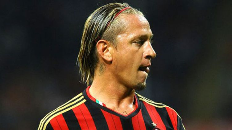 Le joueur du Milan AC, Philippe Méxès