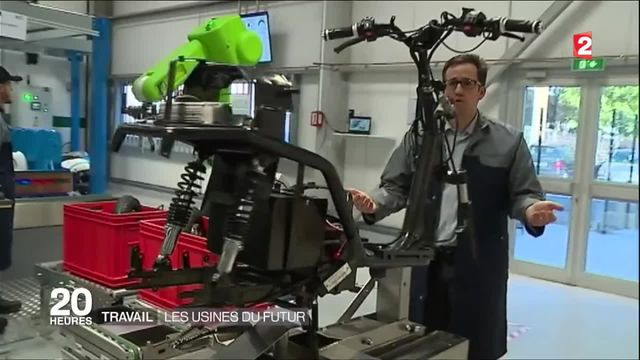 Travail : les usines du futur