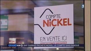 Le compte Nickel s'ouvre chez un buraliste. (FRANCE 3)