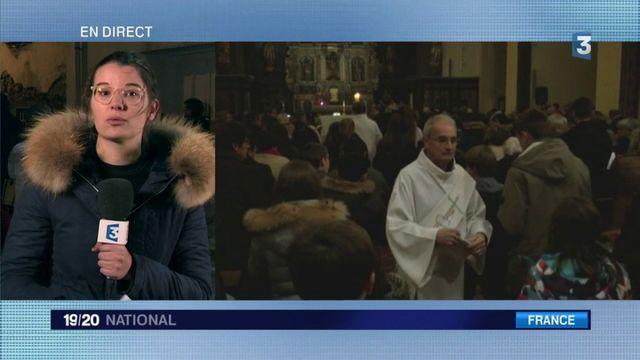 Saint-Féliu-d'Avall : recueillement après le drame
