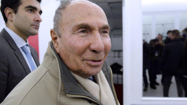 Le sénateur UMP Serge Dassault, le 19 novembre 2013 à Paris. (BERTRAND GUAY / AFP)