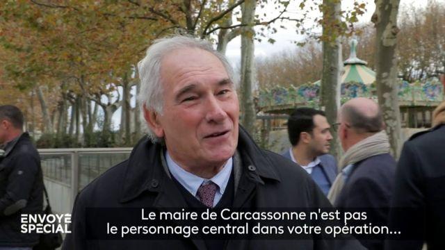 """Hôpital construit en zone inondable : quand le maire de Carcassonne se sent agressé par les questions d'""""Envoyé spécial"""""""