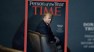 """Donald Trump a été désigné """"personnalité de l'année"""" par le magazine """"Time"""", le 7 décembre 2016. (TIME)"""