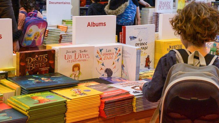 Salon Livre Paris, mars 2018  ( ISA HARSIN/SIPA)