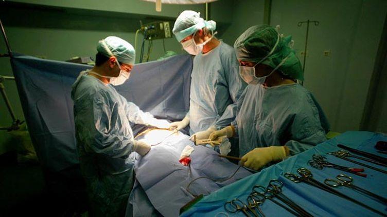 (Des patients, greffés du rein, demandent le remboursement du Belatacept, comme c'est le cas dans de nombreux pays (illustration) © MaxPPP)