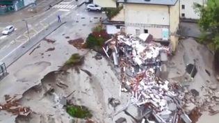 De violentes intempéries ravagent l'Italie. (CAPTURE D'ÉCRAN FRANCE 3)