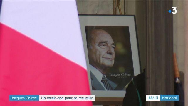 Jacques Chirac : un week-end pour se recueillir