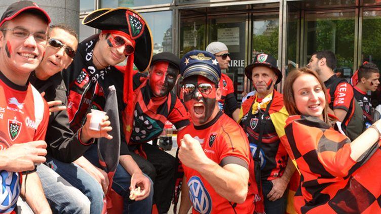 Les fans du RC Toulon (CITIZENSIDE/SA?D ANAS / CITIZENSIDE.COM)