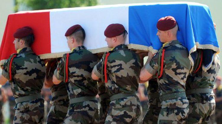 Obsèques du 63è soldat français tué en juin 2011 (AFP)