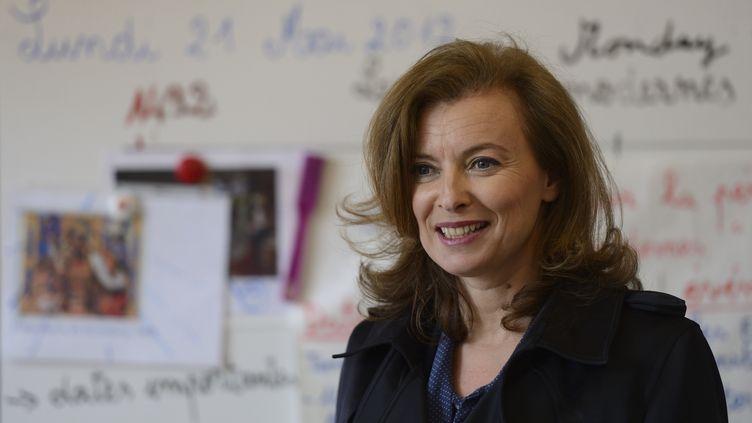 Valérie Trierweiler, le 21 mai 2012 à Chicago (Etats-Unis). (ERIC FEFERBERG / AFP)