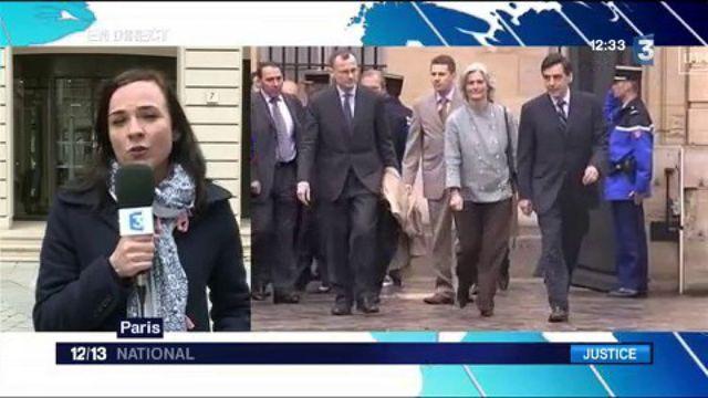 Affaire Fillon: Penelope Fillon devant les juges du parquet national financier