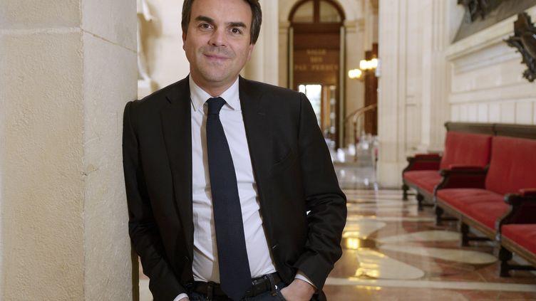 Thomas Thévenoud à l'Assemblée nationale le 1er avril 2016. (BERTRAND GUAY / AFP)