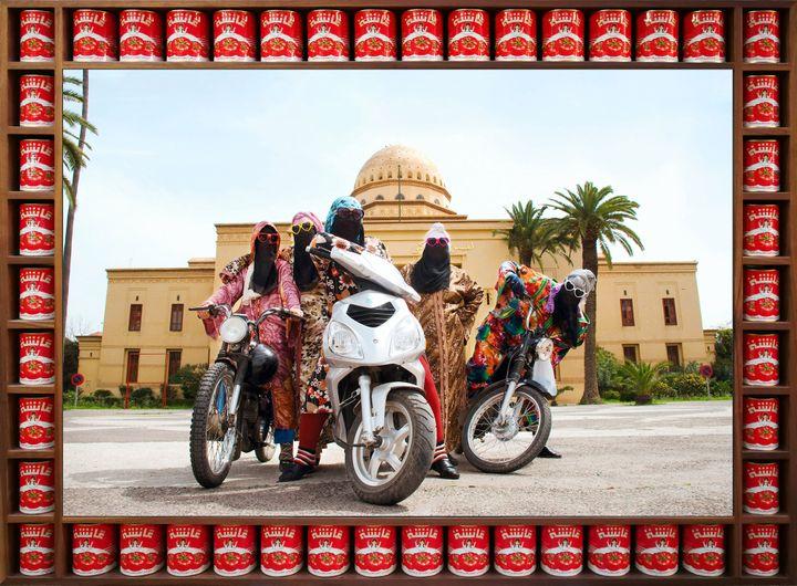 """Hassan Hajjaj, """"Kesh Angels"""", de la série """"Kesh Angels"""" (© Hassan Hajjaj, 2010/1431)"""