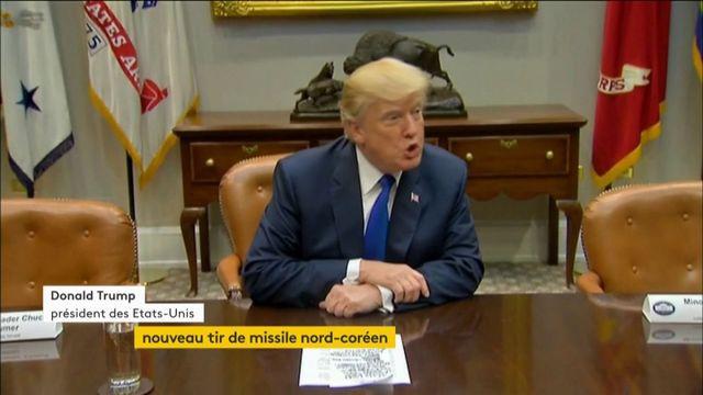"Trump sur la Corée du Nord: ""On va s'en occuper"""