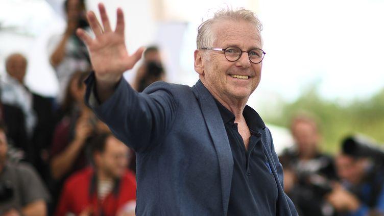 Daniel Cohn-Bendit, le 16 mai 2018, à Cannes. (ANNE-CHRISTINE POUJOULAT / AFP)