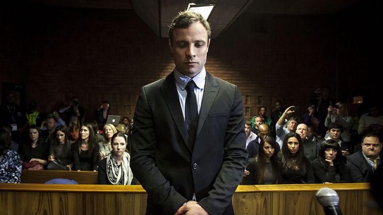 (Oscar Pistorius devant la justice en 2013. © Maxppp)