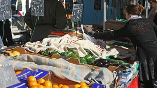 Pour protéger les fruits et légumes, ils sont recouverts par des couvertures. (Photo d'illustration) (MAXPPP)