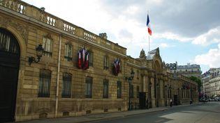 La façade du Palais de l'Elysée, résidence officielle des présidents de la République. Paris (France) le 18 octobre 2007 (NATHANAEL CHARBONNIER / FRANCEINFO / RADIO FRANCE)