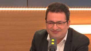 El Mouhoub Mouhoud est économiste, professeur à l'université Paris-Dauphine. (RADIO FRANCE)