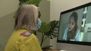 Pour remédier au manque de professionnels de santé, un centredédié aux téléconsultations en ophtalmologiea ouvert dans le nord de la France (CAPTURE ECRAN FRANCE 3)