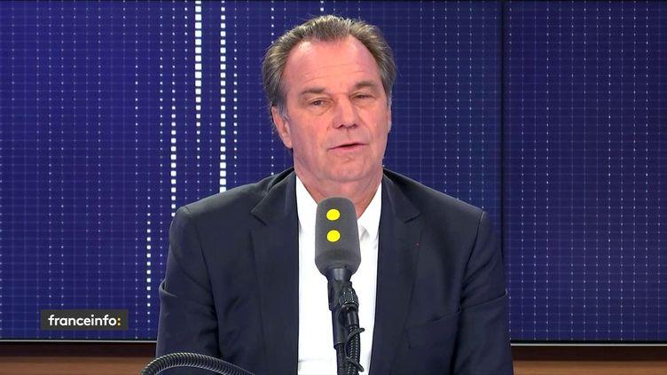 Renaud Muselier, président Les Républicains du Conseil régional de Provence-Alpes-Côte-d'Azur. (FRANCEINFO / RADIOFRANCE)