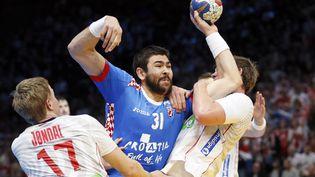 La Norvège affronte la Croatie en demi-finale du Mondial de handball, vendredi 27 janvier 2017, à Paris. (THOMAS SAMSON / AFP)