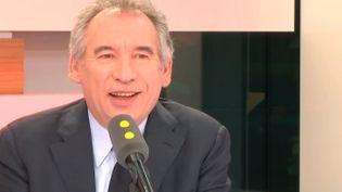 François Bayrou sur franceinfo, le 8 mai 2017. (FRANCEINFO)