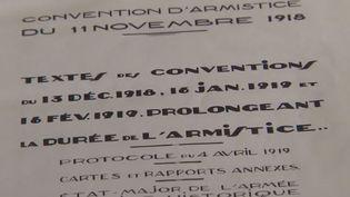 Convention d'armistice du 11 novembre 1918 (France 2)