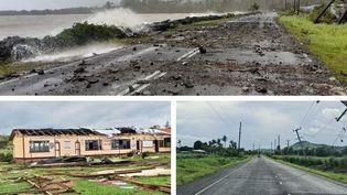 Des villages ont été entièrement rasés après le passage du cyclone. (UNICEF ET FIJIAN GOVERNEMENT)