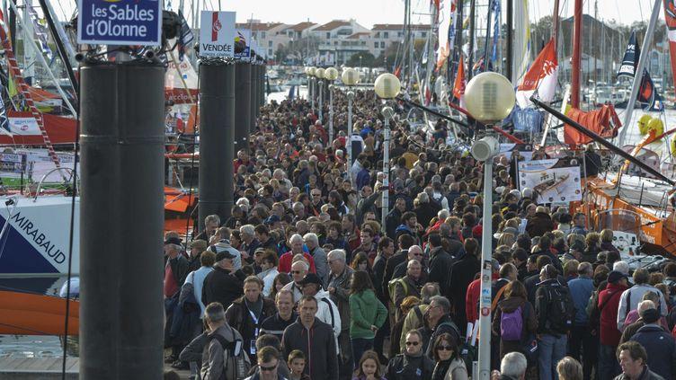 Les Sables d'Olonne le 8 novembre 2012 veille du départ de la course du Vendée Globe (ZIMERAY ALAIN / SIPA)