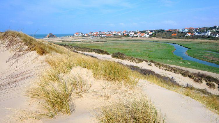 Les dunes de la Slack (Pas-de-Calais) entre Wimereux et Ambleteuse (SEBASTIEN JARRY / MAXPPP)