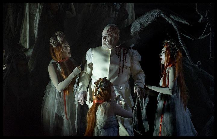 """""""Macbeth Underworld"""" enregistré au Théâtre de la Monnaie de Bruxelles le 20 septembre 2019. (BAUS - LA MONNAIE)"""