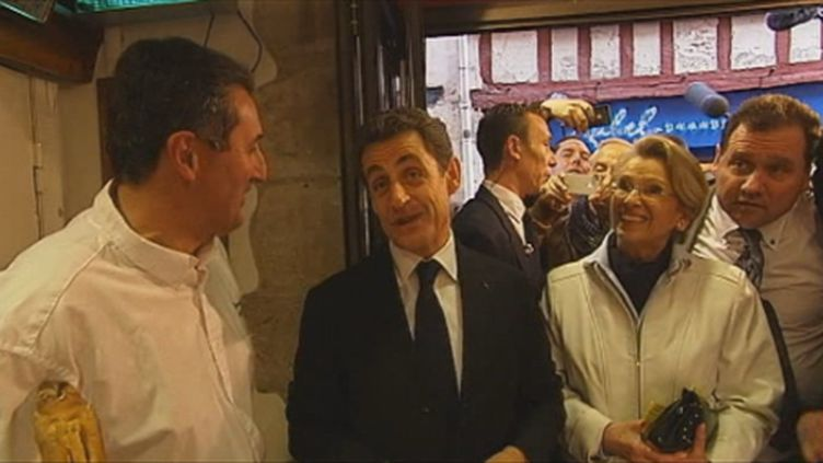 Nicolas Sarkozy jeudi 1 mars à Bayonne (FTV)