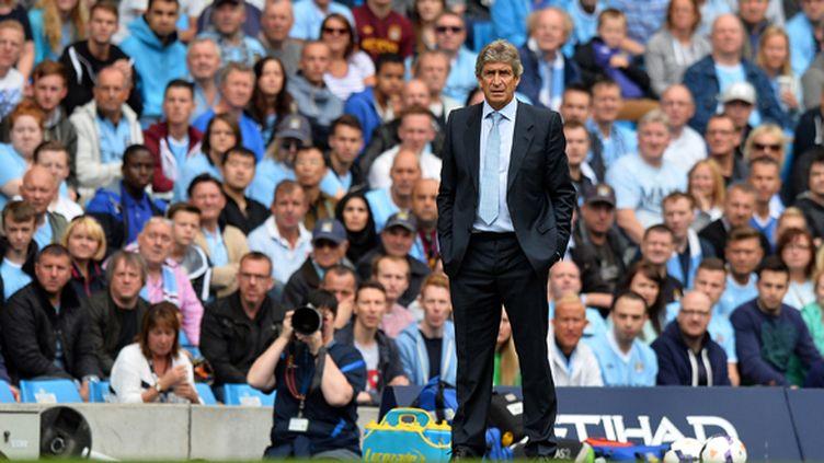 Manuel Pellegrini (Manchester City).  (PAUL ELLIS / AFP)
