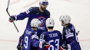 L'équipe de France de hockey sur glace, ici lors des Mondiaux, le 17 mai 2019 (MAXPPP)