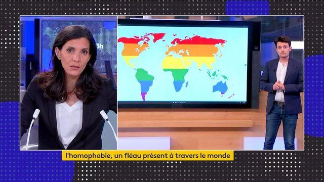 Homophobie : près de 70 pays répriment encore l'homosexualité