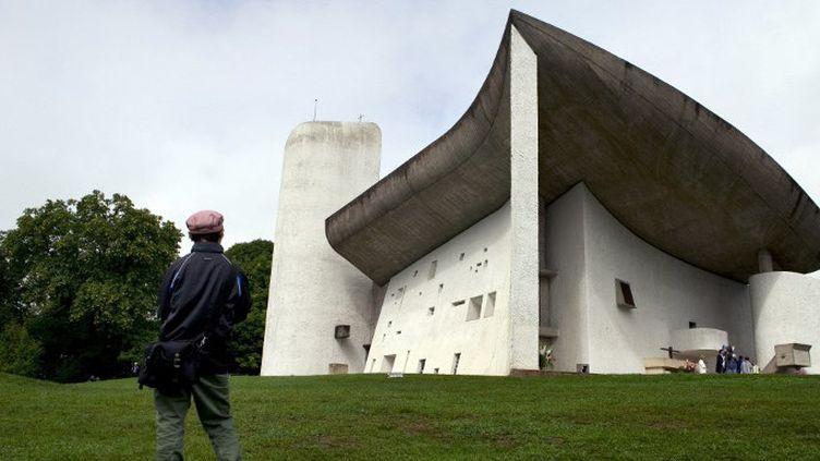 Chapelle Notre-Dame-Du-Haut à Ronchamp (1911) par Le Corbusier  (SEBASTIEN BOZON / AFP)