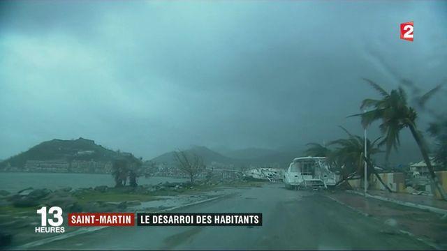 Ouragan Maria : le désarroi des habitants de Saint-Martin