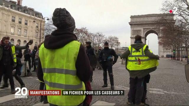 Manifestations : un fichier pour les casseurs ?